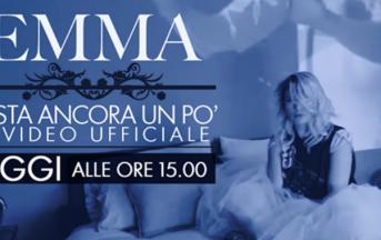 """Emma Marrone, nuovo singolo: arriva il video di """"Resta ancora un po' """""""