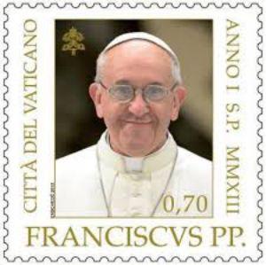 Papa Francesco fa vendere molto francobolli e altro