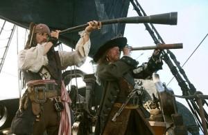 Depp in Pirati dei Caraibi 5