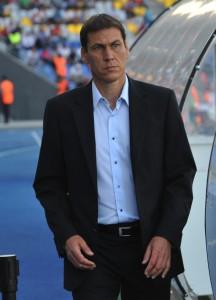il tecnico giallorosso Garcia
