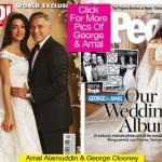 amal Alamuddin George Clooney foto del mtrimonio vendute in esclusiva per beneficenza