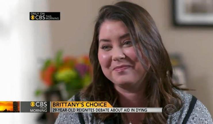 Brittany Maynard ha scelto di morire perché malata