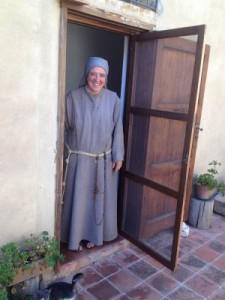 Suor Donata vive a Tusa secondo la regola bllata di San Francesco