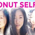 donut selfie ciambella panoramico