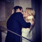 michelle hunziker sposa a Bergamo