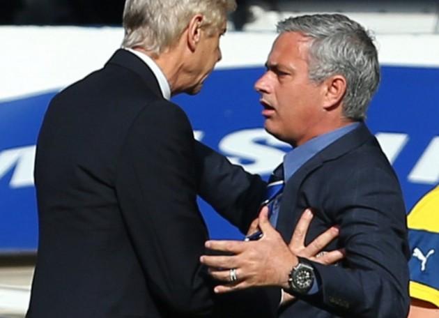 mourinho vs wenger