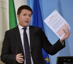 Promesse non mantenute Renzi