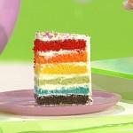 ricette dolci dopo il tiggì torta arcobaleno