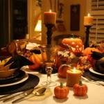 decorare la tavola di halloween