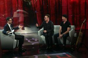 U2 anteprima ultimo album da Fazio