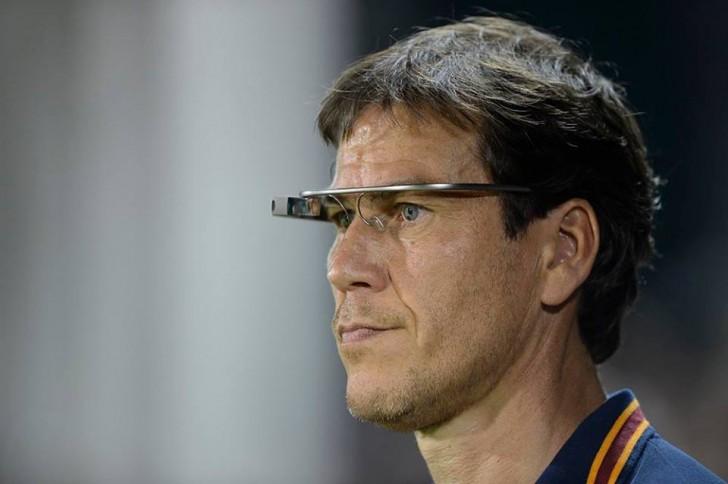 AS Roma il tecnico Garcia