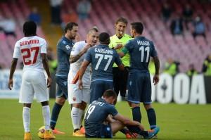 Roma contro il Napoli