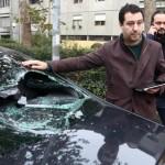 Matteo Salvini aggressione