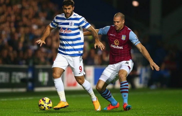 Ron Vlaar dell'Aston VIlla