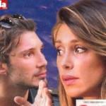 Belen Rodriguez lite in strada con Stefano De Martino