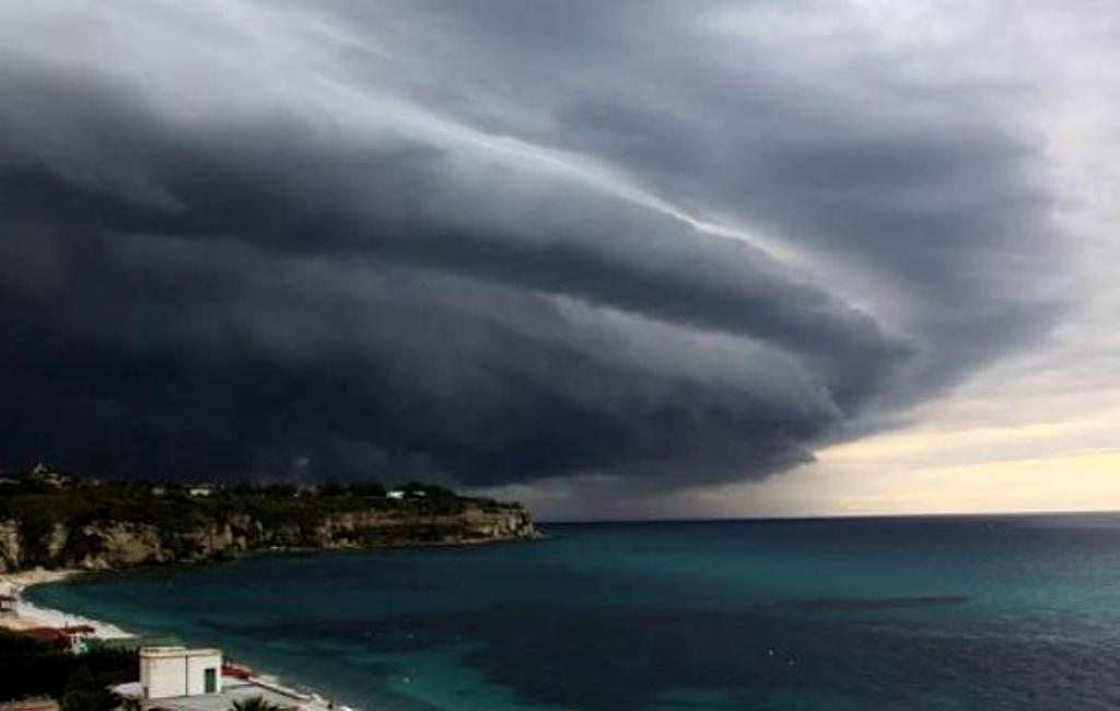 Ciclone tropicale in Sicilia