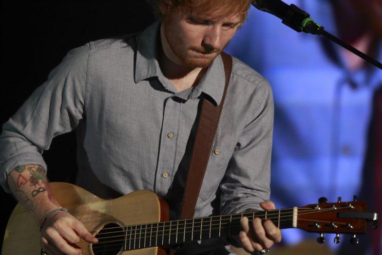 Ed Sheeran fidanzata