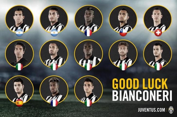 la squadra della Juventus