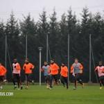 Juventus in allenamento