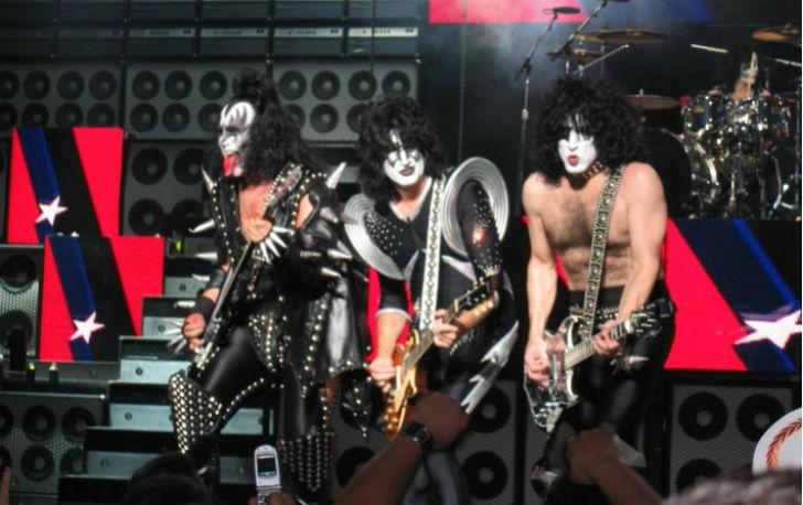 Kiss concerto Italia 2015