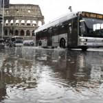 Emergenza maltempo a Roma