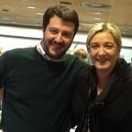 Le Pen va in estasi per Matteo Salvini