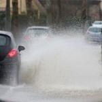Roma bomba d'acqua nel pomeriggio