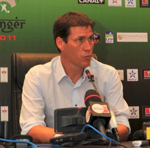 Rudi Garcia della Roma