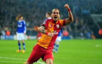Napoli calcio, il Nizza mette a segno un colpo da Champions: preso Sneijder
