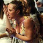 A Tor Sapienza i cittadini contestano Paola Taverna