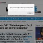 attacco hacker giornali on line