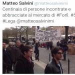 Matteo Salvini Forlì