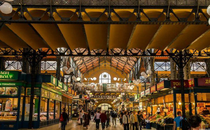 Budapest Nagycsarnok, mercato