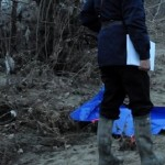 Cadavere sulla riva del Po