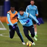 Ramires e Diego Costa del Chelsea