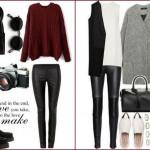 moda tendenze must-have inverno 2015 leggins di pelle idea look