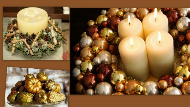 Decorare Tavola Di Natale Fai Da Te : Tavola di natale decorazioni fai da te idee originali dell