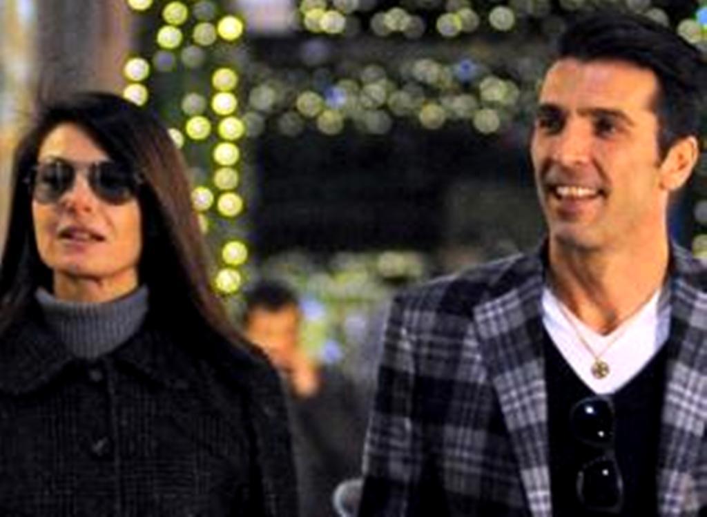 Gigi Buffon e Ilaria D'Amico gossip