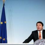 Matteo Renzi conferenza stampa di fine anno