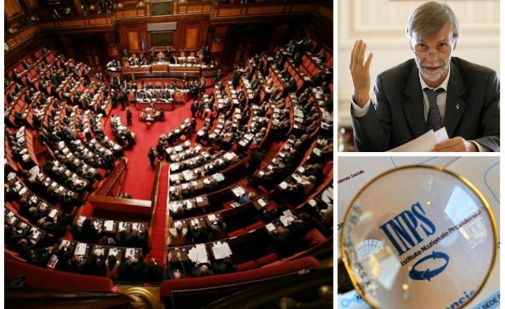Riforma pensioni 2015 modifiche al senato for Dipendenti camera dei deputati