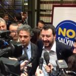Salvini presenta nuovo logo