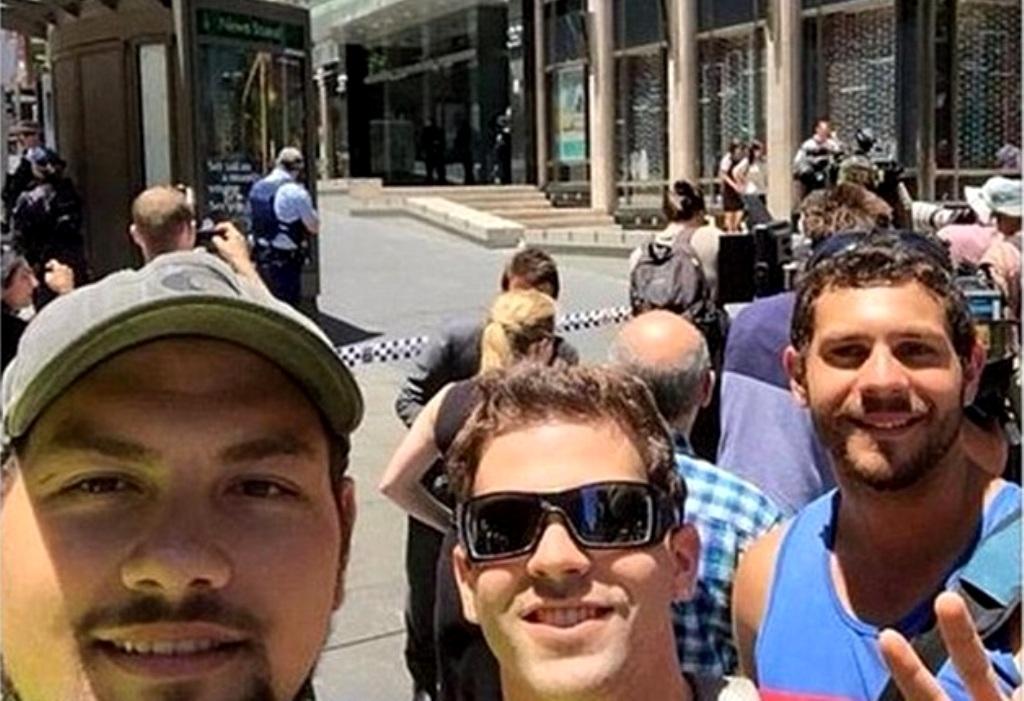 Sydney selfie della vergogna