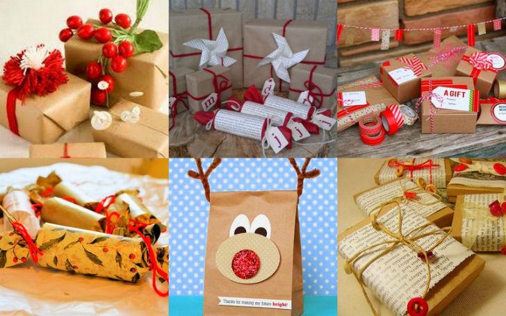 Idee Pacco Regalo Natale.Confezioni Regalo Fai Da Te Natale 2014 Come Impacchettare