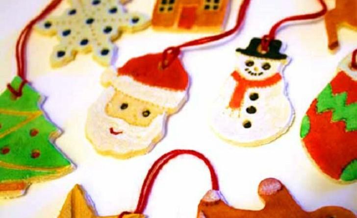 Addobbi natalizi 2015 decorazioni fai da te con la - Decorazioni natalizie per dolci ...