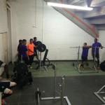 envigado in allenamento