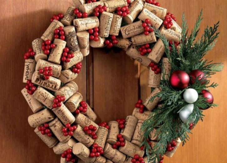 Lavoretti Di Natale Tappi Sughero.Addobbi Natalizi 2014 Decorazioni Fai Da Te Con I Tappi Di