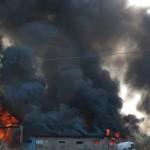 Padova incendi doloso in campo nomadi