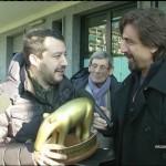 Matteo Salvini contro Matteo Renzi