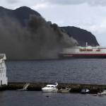 incendio traghetto Grecia Italia passeggeri salvataggio