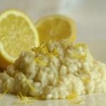 risotto al limone idea ricetta